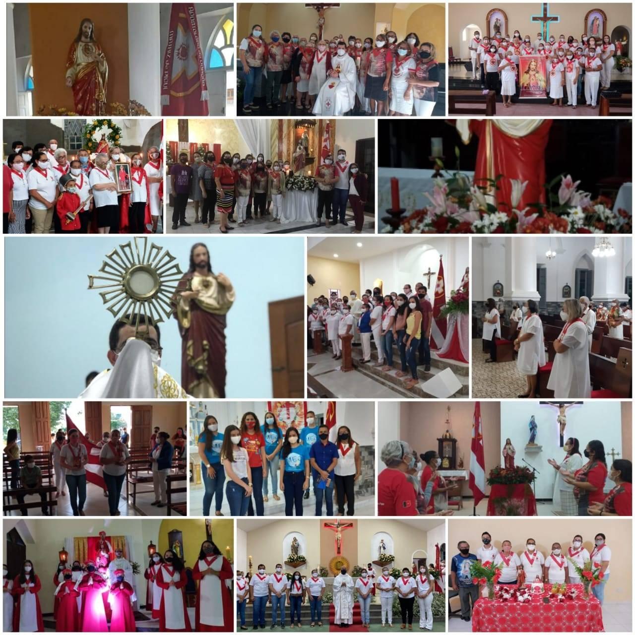 Paróquias celebram o Sagrado Coração de Jesus
