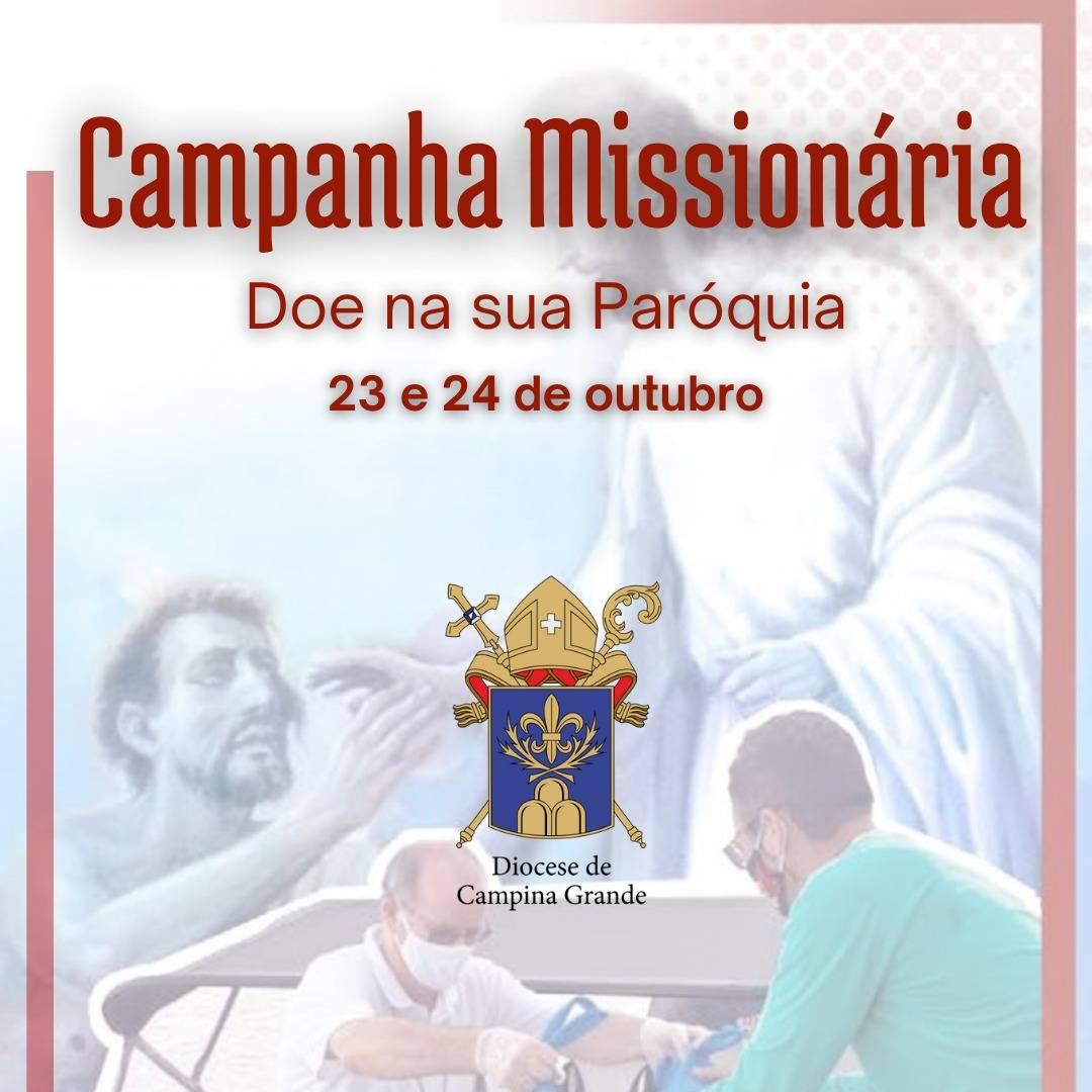 Coleta Missionária será realizada neste final