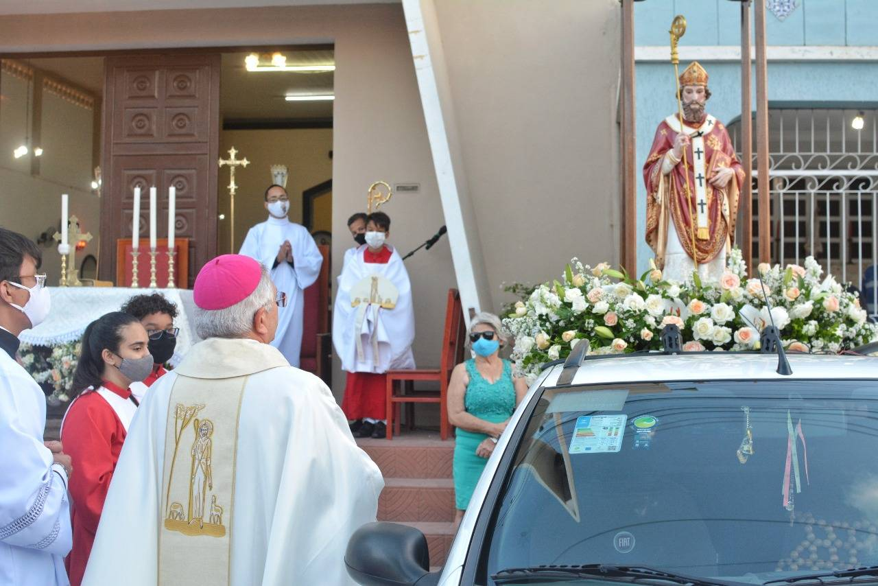 Festa de São Severino Bispo, em Nova Floresta