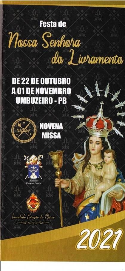 Paróquia de Umbuzeiro-PB celebra Nossa Senhor